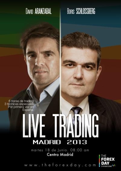 ¡Sesión Especial Live trading 2013!